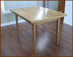 dutch pull out table dutch pull out dining table in canarywood