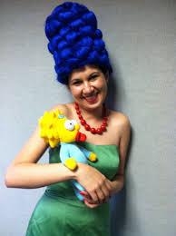 Marge Simpson Halloween Costume Diy Pair Halloween Costumes Dress Marge Simpson Costume Diy