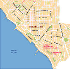 lima map lima city map lima peru mappery