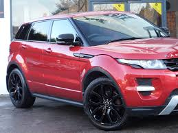 land rover pink used 2012 land rover range rover evoque sd4 dynamic sat nav