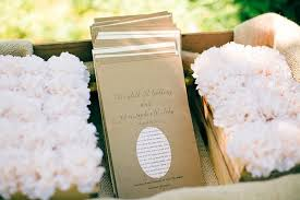 kraft paper wedding programs rustic wedding ideas get krafty