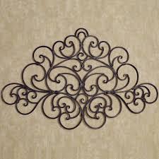 black in wrought iron wall decor u2014 home designing