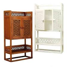 Bamboo Shelves Bathroom Bamboo Storage Cabinet Bamboo Bathroom Wall Two Door Bathroom Wall