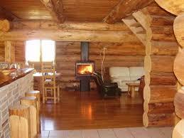 maison bois interieur design d u0027intérieur de maison moderne chalet en bois ecologique