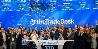 the trade desk ipo the trade desk surges in first day of trading wsj