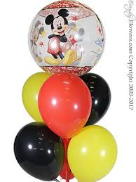 balloon delivery orange county ca mickey mouse balloons delivery by everyday flowers orange county ca
