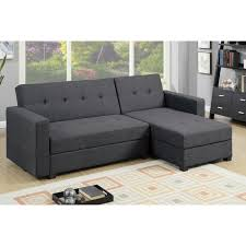 Reversible Sectional Sofas by 2pc Adjustable Sofa W Flip Up Compartment In Blue Grey Color Mcf