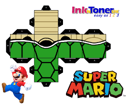 print your own super mario papercraft inkntoneruk blog