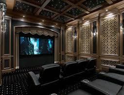 Home Theater Design Ideas For Men Movie Room Retreats - Home cinema design