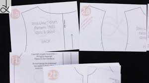 shirt pattern cutting pdf easy pdf sewing patterns from angela kane