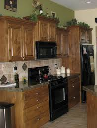 kitchen kitchen color ideas with cherry cabinets breakfast nook