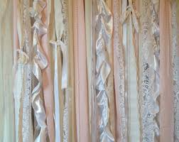 backdrop fabric diy how to make a shabby chic fabric garland backdrop candy