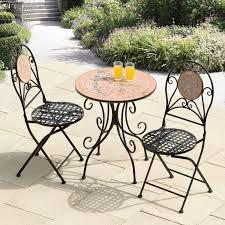Iron Bistro Table Set Furnitures Minimalist Iron Cast Furniture Garden Design Cast
