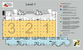 nutrition association of louisiana exhibition hall floor plan