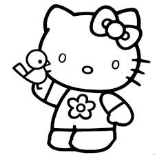coloring pages coloring pages kitty printable