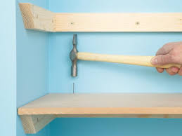 Wood Shelves Build by Custom Shelving Done 4 Ways How Tos Diy