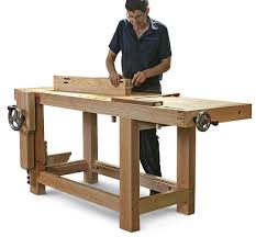 Popular Woodworking Roubo Bench Plans by Modified Roubo Is The Ultimate Workbench Finewoodworking