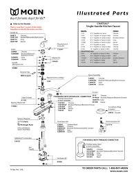 kohler kitchen faucet parts kohler k 692 parts list and diagram