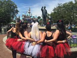 disneyland bachelorette party the tutus and ears made it all so