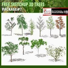 sketchup texture sketchup 3d model vegetation