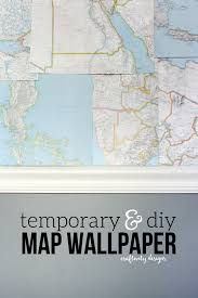 Affordable Temporary Wallpaper Diy Map Wallpaper A Refresh U2013 Craftivity Designs