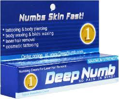5 x 10g deep numb numbing cream tattoo body piercings waxing laser