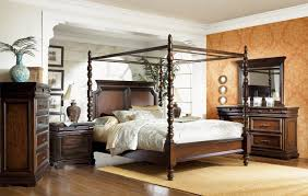 Havana Bedroom Furniture by Legacy Classic Havana Poster Canopy Bed 0760 4525 At Homelement Com