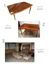 Vintage Dining Table Craigslist Seriously Awesome Mid Century Modern Furniture And Accessories You