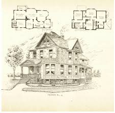 victorian era house plans victorian home plans that appear to be by architect frank p allen