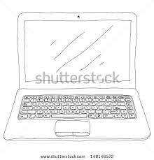drawing laptop stock images royalty free images u0026 vectors