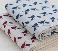 Upholstery Burlap Bird Jute Burlap Hessian Fabric Sewing Quilting Bag Cloth