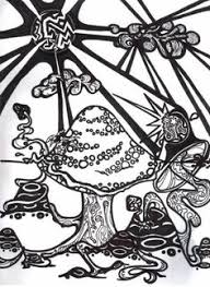 colouring mushrooms toadstools zentangles coloring labs