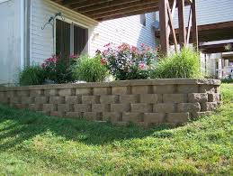 brilliant landscaping blocks ideas how to build landscape wall