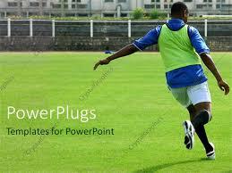 powerpoint template american collegiate football southwest america