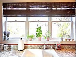 kitchen window sill ideas kitchen window decoration ideas kitchen bay window treatments