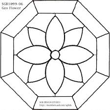 Flower Glass Design 368 Best Stained Glass Patterns Images On Pinterest Stained