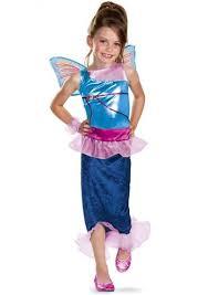 Mermaid Halloween Costumes Kids Kids Winx Club Bloom Mermaid Girls Costume 19 99 Costume Land