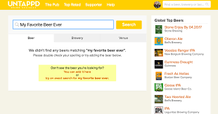 how do i add a to the untappd database untappd for business