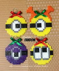 minion ornaments set of 2 by k8bithero on etsy