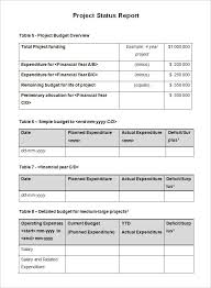 project weekly status report template excel status report template writing word excel format