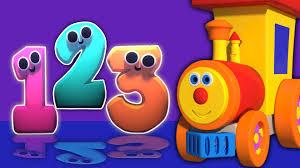 imagenes educativas animadas ben tren y números en candyland 3d dibujos animados para niños