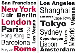 wallpops home decor line favorite cities quote wall decal