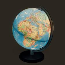 earth globes that light up columbus voyage light up globe for kids with animals 10 inch