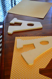 how to mod podge wooden letters this u0027s life blog crafty
