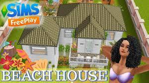 Sims Freeplay Beach House by Sims Freeplay Beach House Tour Youtube