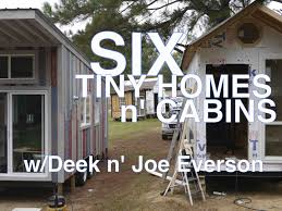 6 tiny houses cabins in one tour tennessee tiny homes youtube