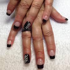 23 black tip nail art designs ideas design trends premium