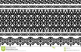 ornamental border stock vector image of repetitive 55687150