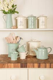 woodware u0027s vintage ceramic collection in old cream and old green