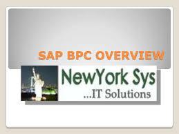 about sap bpc